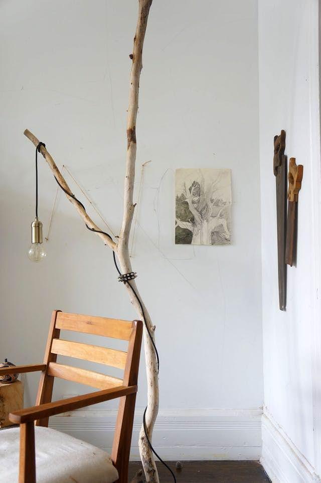 Hemat Biaya dan Estetik, 9 DIY Furnitur dari Batang Pohon