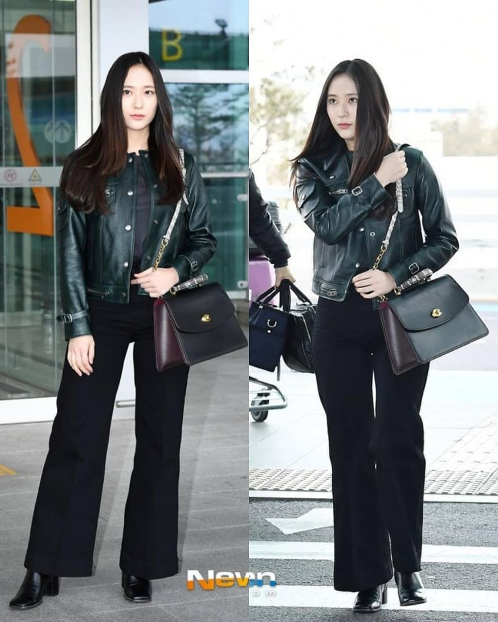 10 Ide Mix and Match Outfit dengan Outer ala Krystal Jung, Modis!