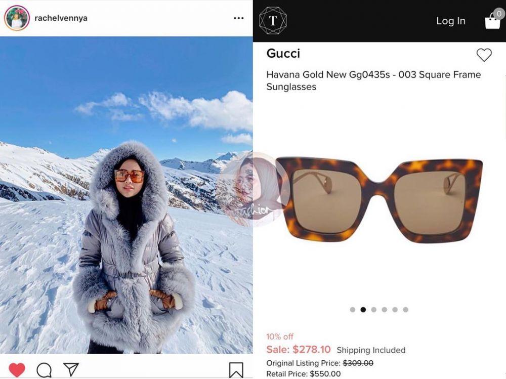 10 Koleksi Kacamata Rachel Vennya Ini Harganya Bikin Kantong Menjerit!