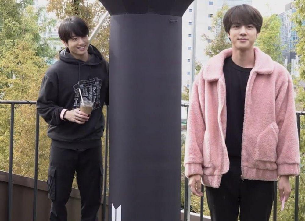 18 Momen Lucu Jin dan Jungkook BTS, Duo Tom & Jerry?
