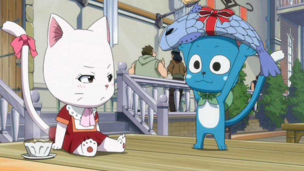 Fairy Tail: 5 Hal yang Tidak Masuk Akal Tentang Karakter Happy
