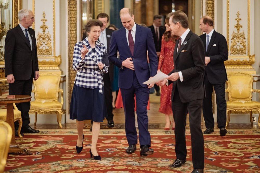 10 Potret Bugar Princess Anne, Putri Satu-satunya Queen Elizabeth II