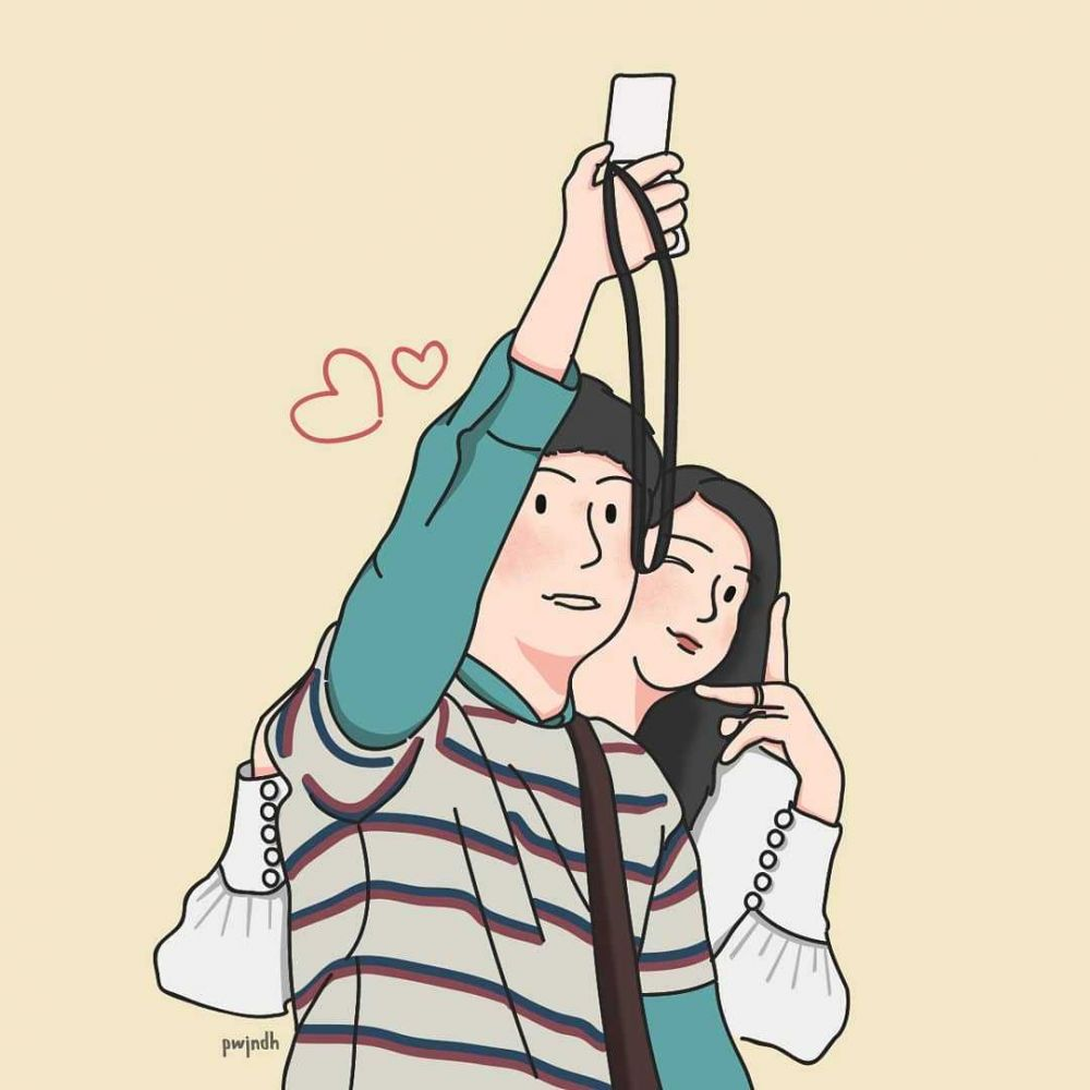 10 Ilustrasi Komik dari Scene KDrama 'Its Okay to Not Be Okay', Keren!