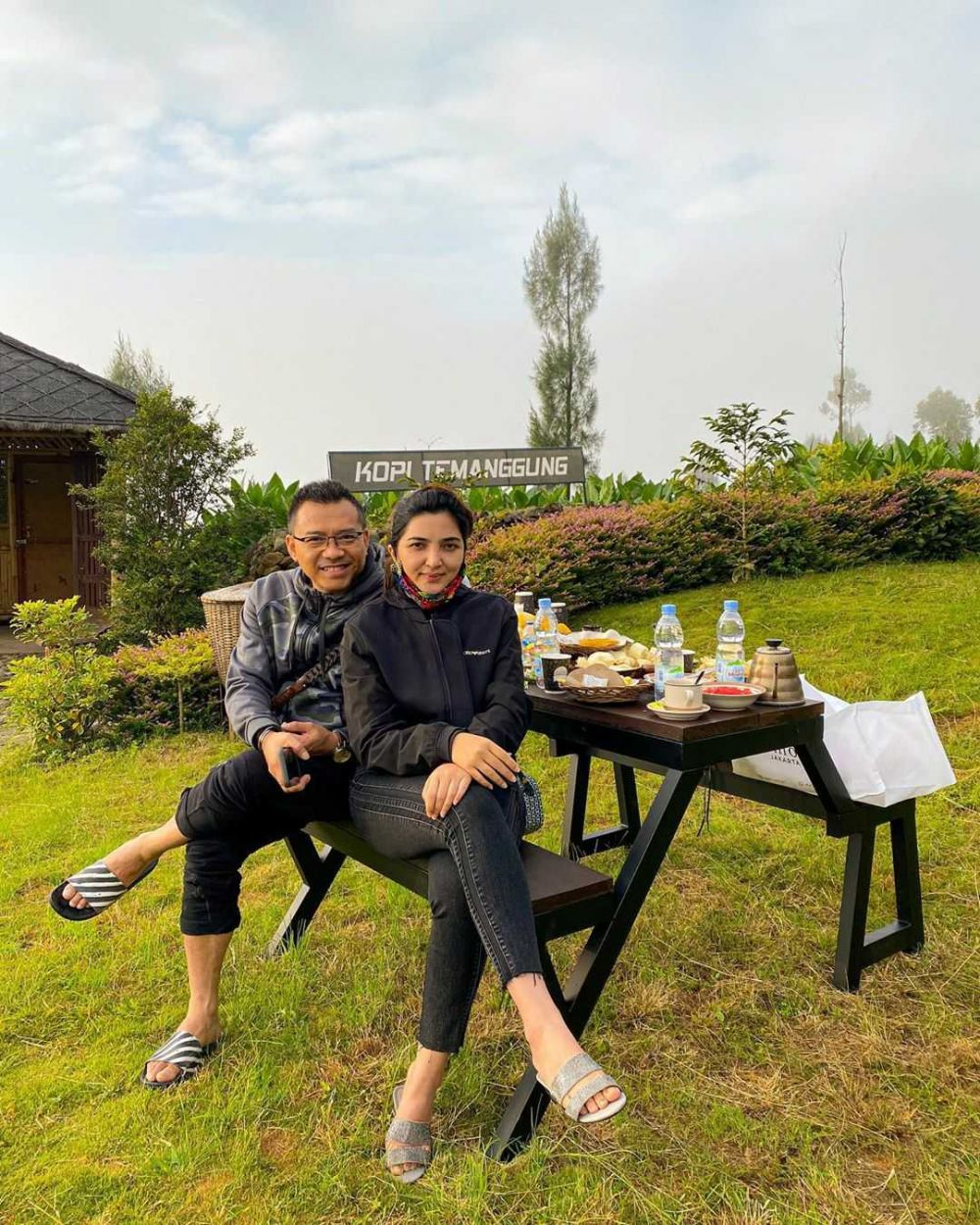 9 Potret Keseruan Liburan Ashanty di Jawa Tengah danYogyakarta