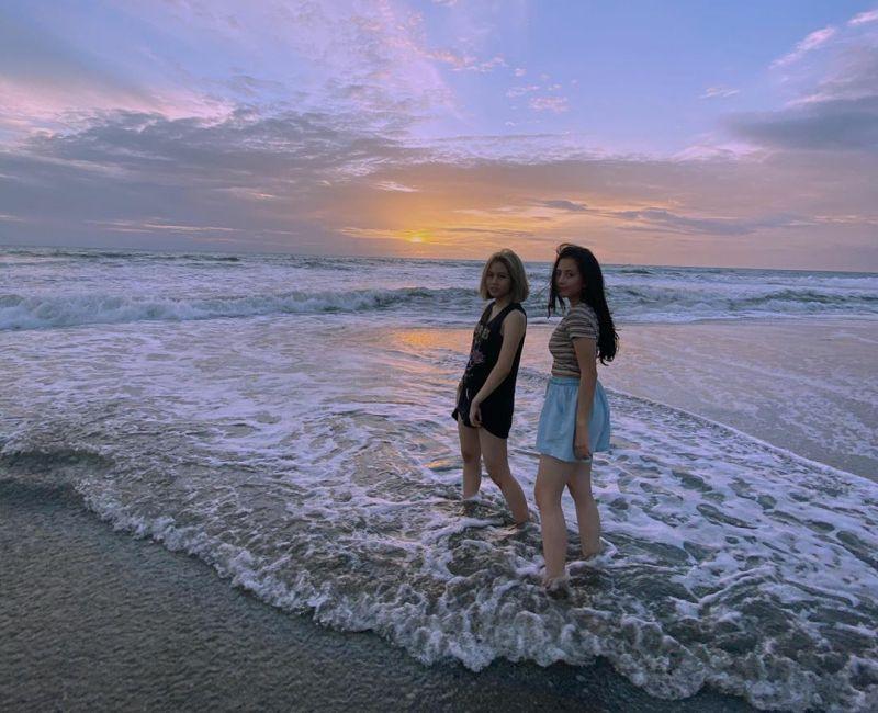 10 Potret Kompak Adhisty Zara dan Kyla, Sibling GoalsNih!