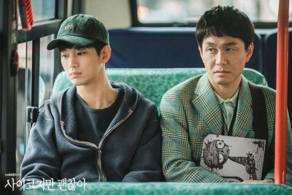 9 Momen Kim Soo Hyun & Oh Jung Se di It's Okay to Not Be Okay, Kompak!