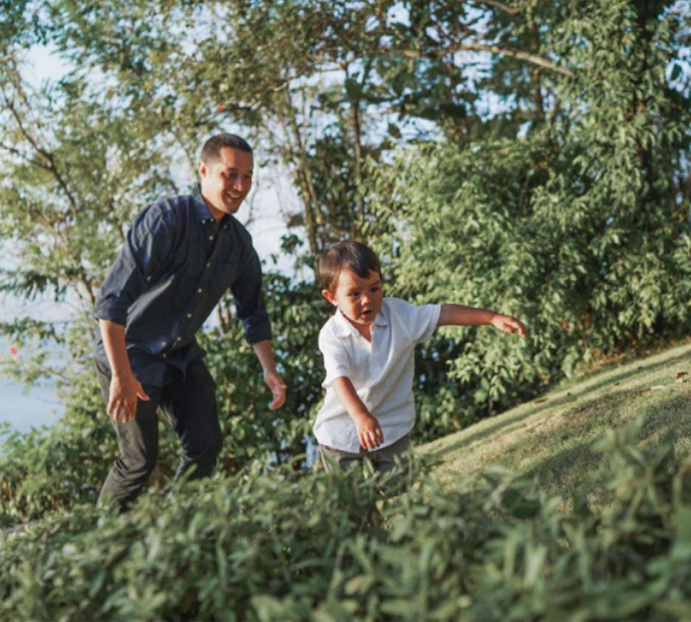 Pesta Kebun, 10 Momen Ulang Tahun ke-40 Suami Happy Salma