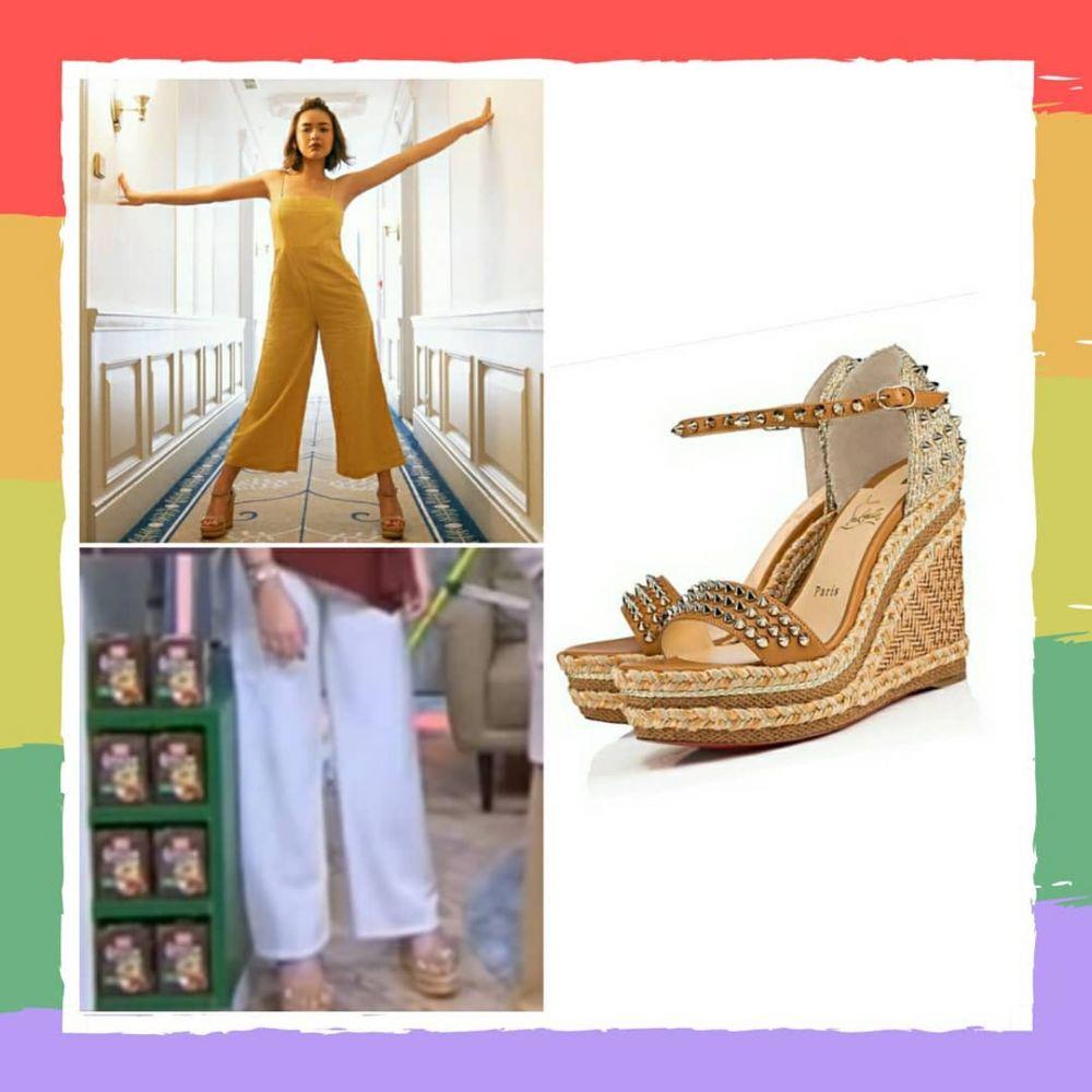 Selalu Tampil Mewah, Ini Harga Fantastis 9 Sepatu Amanda Manopo