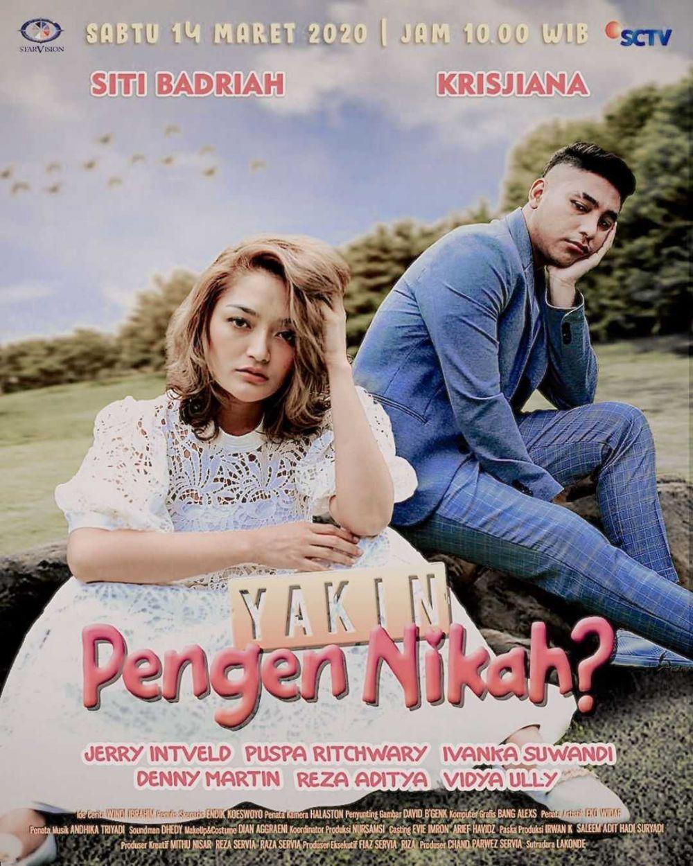 Nikah Rasa Pacaran, 10 Potret Siti Badriah dan Suami yang Bikin Baper