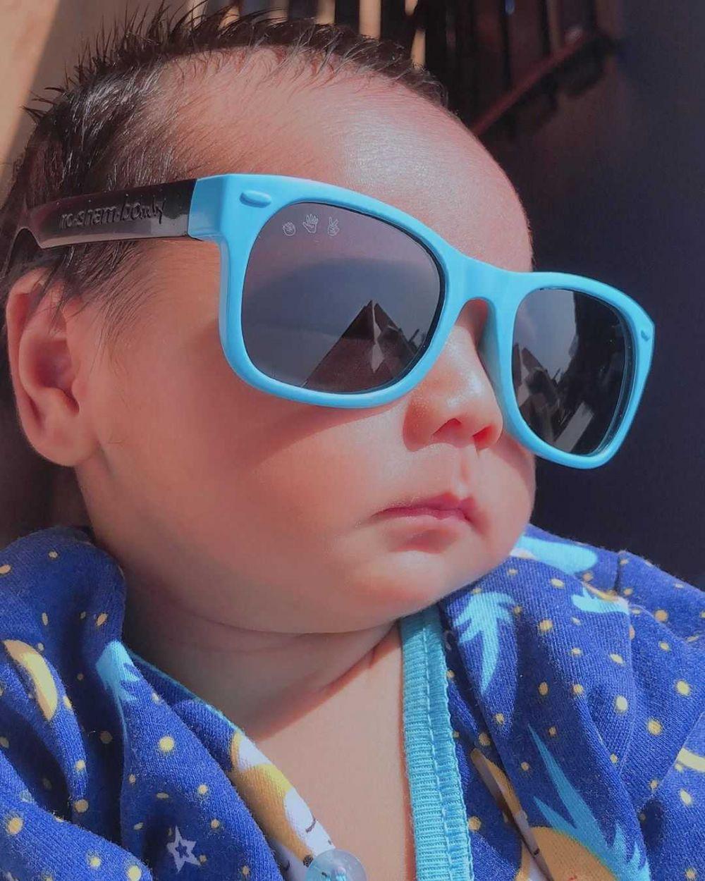 Anak Kesayangan, 10 Potret Imut Baby Shaquille Putra Roger Danuarta