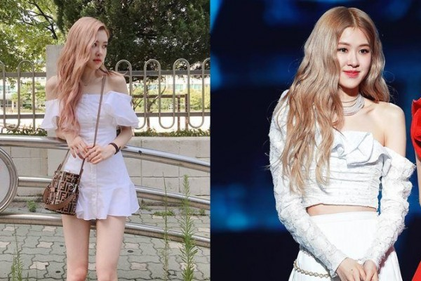 9 Potret Anggun Rose BLACKPINK dengan Off Shoulder Dress, Menawan!