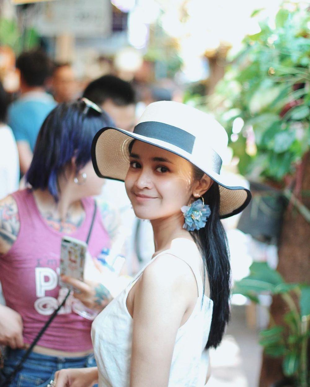 10 Potret Manis Michelle Ziudith yang Masih Cocok Perankan Anak SMA