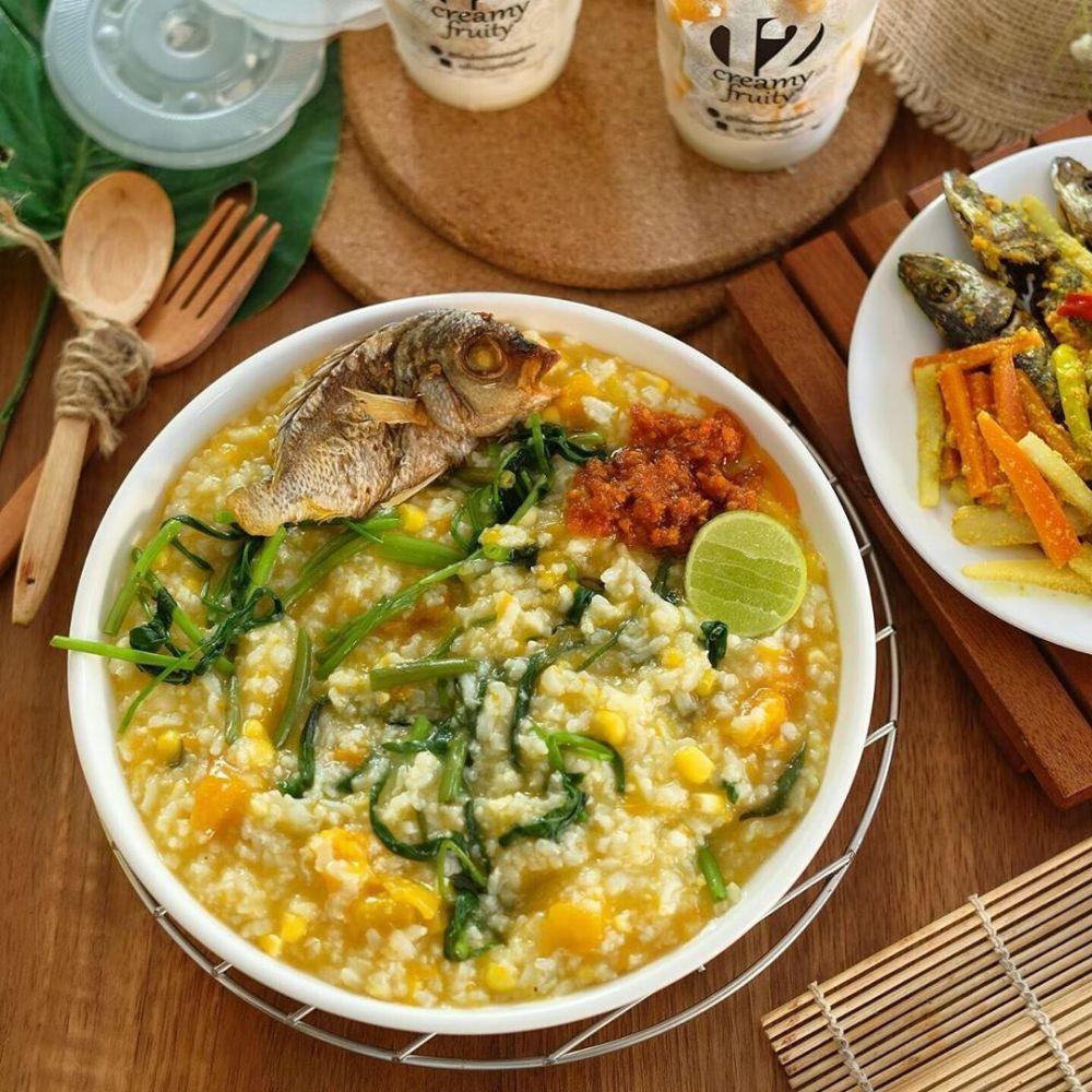 5 Bubur Nasi yang Nikmat Banget Disantap Saat Cuaca Sedang Dingin