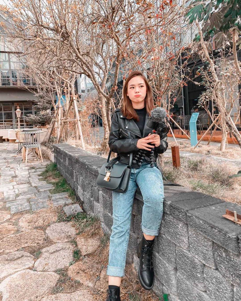 10 Inspirasi Street Style ala Monita Lin, Elegan Banget!
