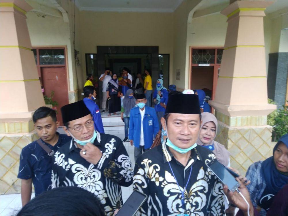 Calon Wakil Bupati Lamongan KH Abdul Rouf Positif COVID-19