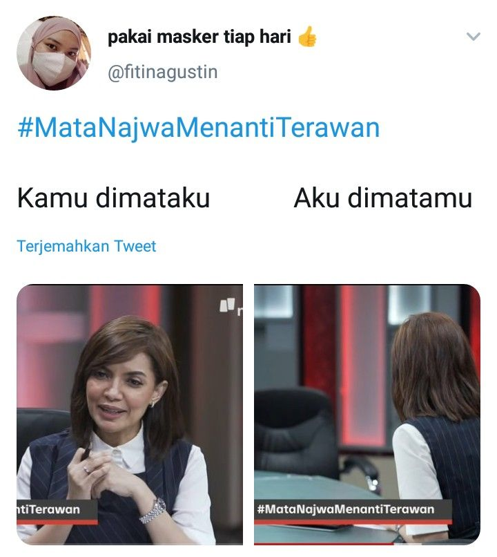 Kocak Abis! 9 Meme Najwa Shihab Wawancara Kursi Kosong Bikin Ngakak