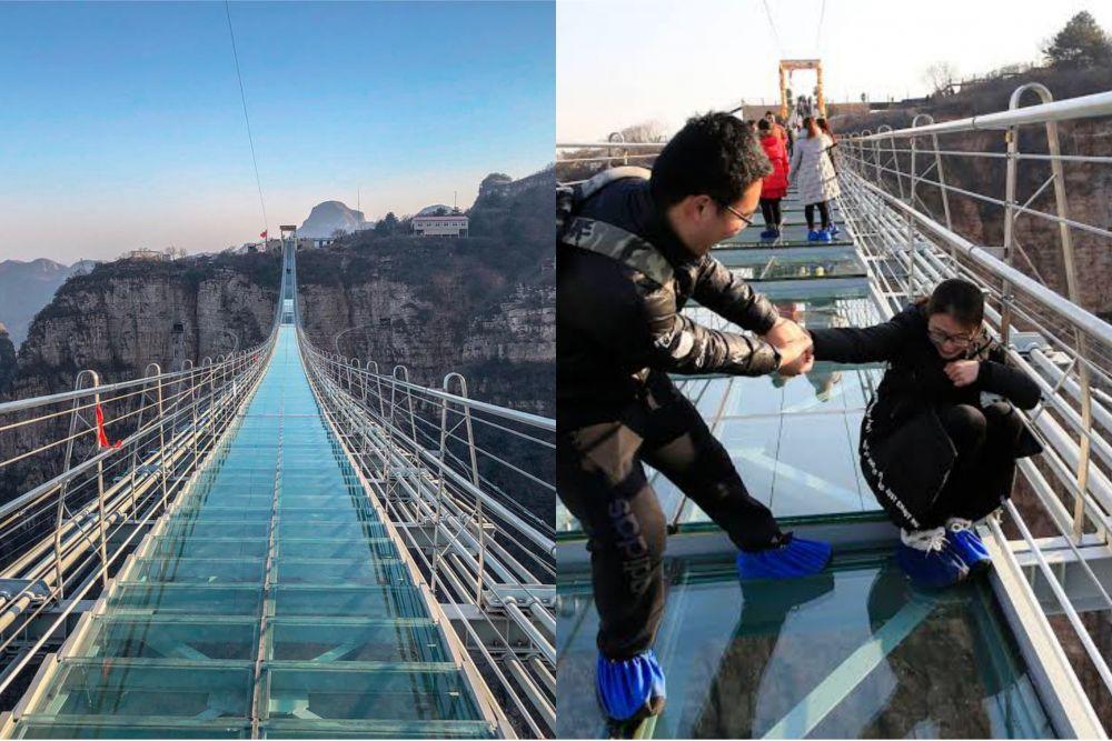 8 Jembatan Ekstrem di Dunia Ini Sangat Menantang Adrenalin, Hati-hati!