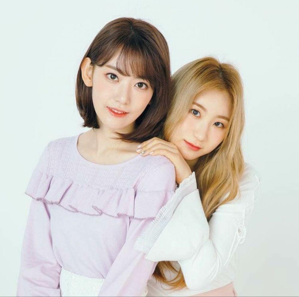 Jadi Sahabat Akur, 10 Potret Kebersamaan Sakura dan Chaeyeon IZ*ONE