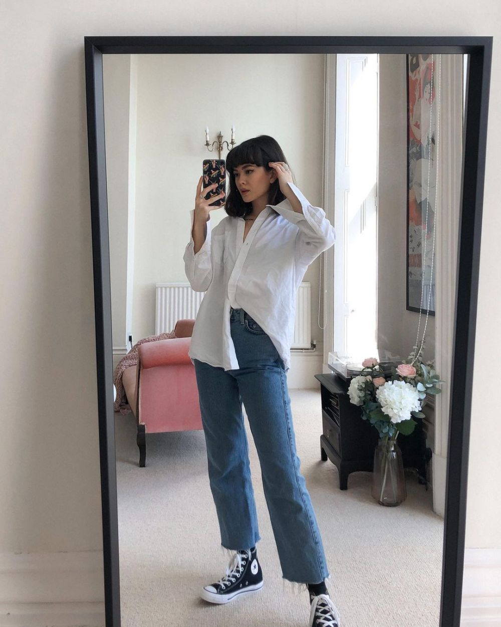 Dukung Sustainable Fashion, 8 Ide Outfit dengan High Waist Denim