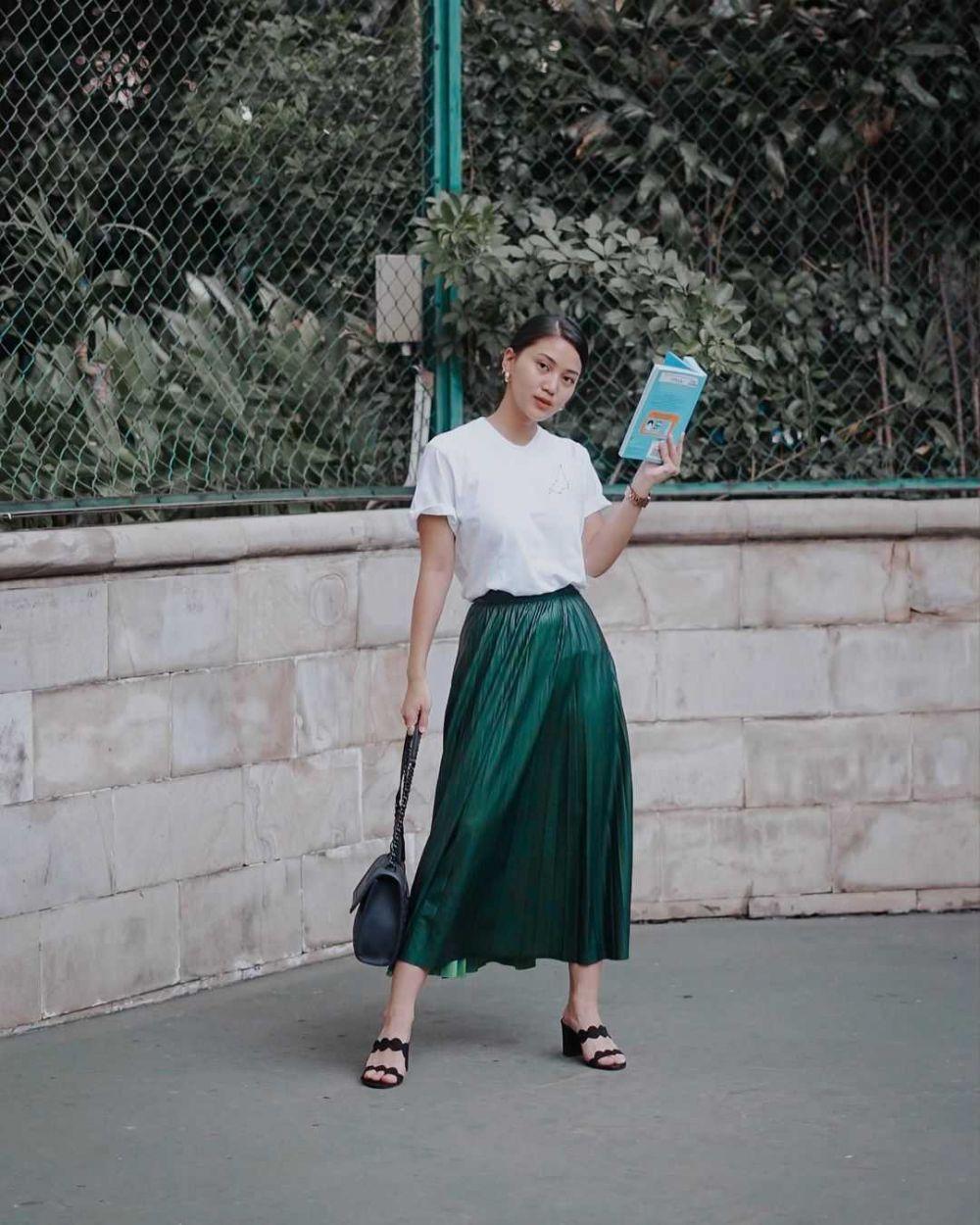 Modis! 10 Inspirasi Outfit Street Style ala Influencer Rachel Theresia