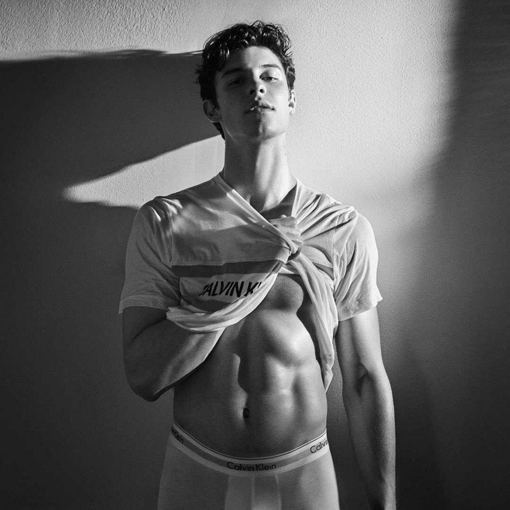 9 Potret Seksi Shawn Mendes Saat Shirtless,Manly Abis!