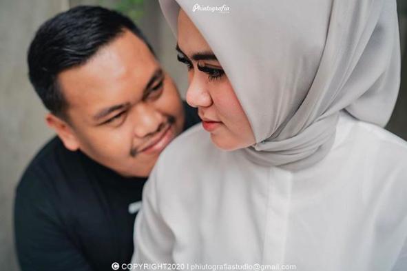 9 Momen Pernikahan Ajudan Pribadi danDewi Amalia,Maharnya Mewah