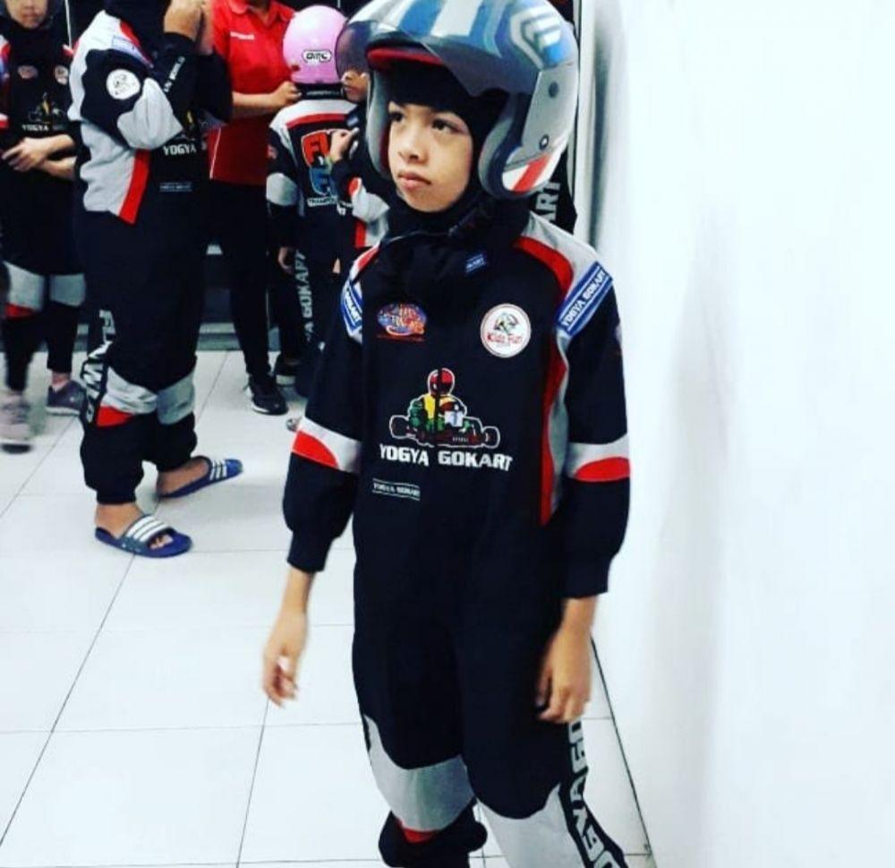 9 Potret Najma Clara Syach, Putri Bungsu Attar Syach yang Imut Abis!