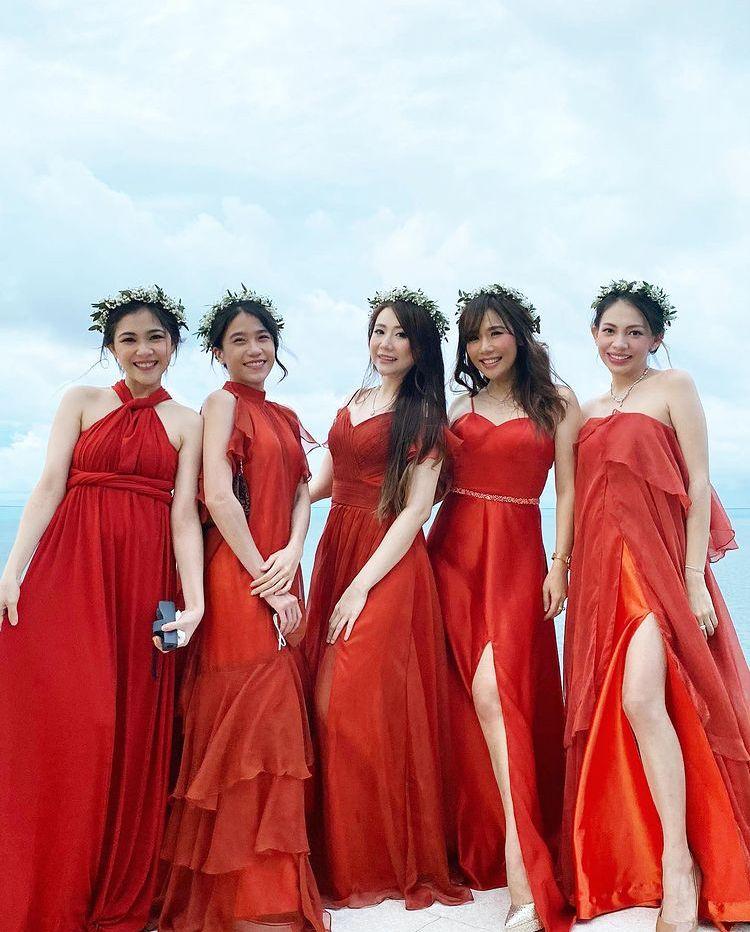 Sempat Tertunda, 10 Momen Pernikahan Steffy Eks Cherrybelle di Bali