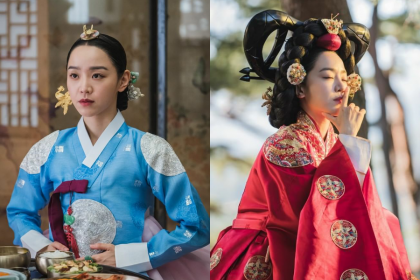 10 Visual Anggun Shin Hye Sun Baju Hanbok 'Mr. Queen'
