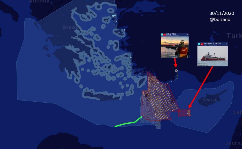 Sanksi di Depan Mata, Turki Tarik Kapal Riset dari Laut Mediterania