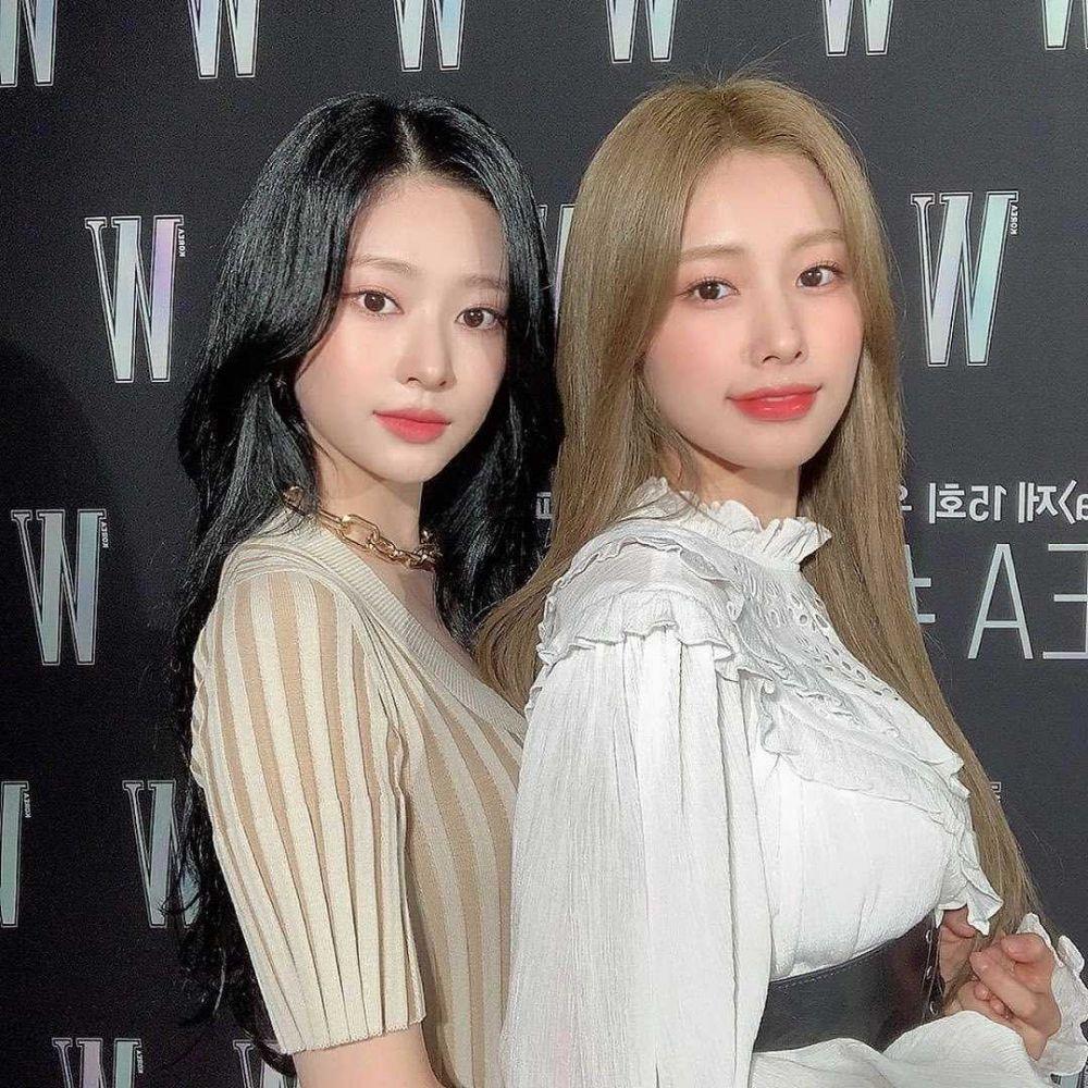 Visual Sisters, 10 Potret Kedekatan Minju-Hyewon IZ*ONE Bikin Gemas