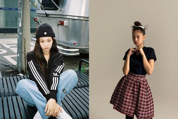 10 Mix and Match Outfit Serba Hitam ala Jennie BLACKPINK, Trendi Abis!