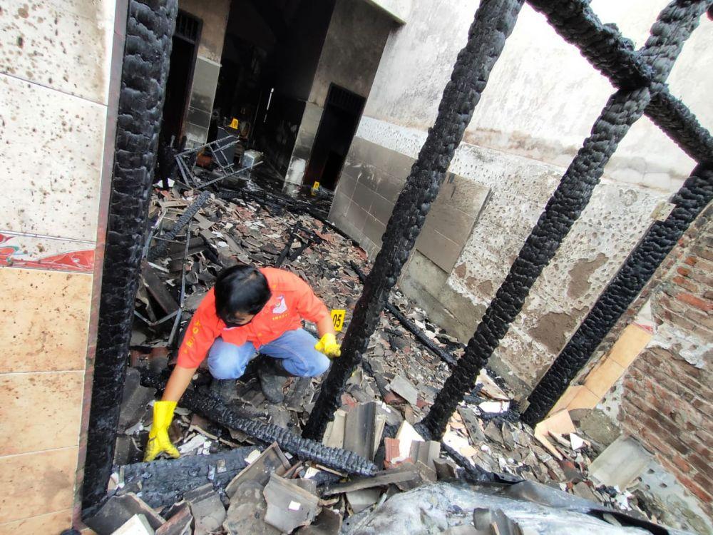 Korban Kebakaran Tulungagung Sempat Terima Teror
