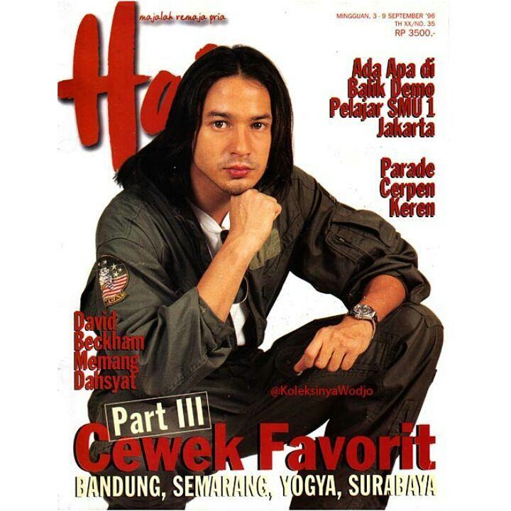 Idola Era 90-an, 10 Potret Jadul Ari Wibowo yang Memesona Sejak Dulu
