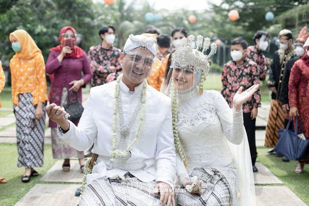 Sah Jadi Istri Air Force Pilot, 10 Momen Pernikahan Delmira Prabu