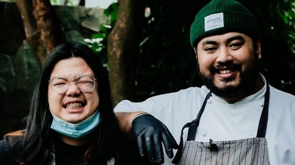 9 Momen Hamdzah MCI7 dan Tim Jadi Chef Private Dining Kesha Ratuliu