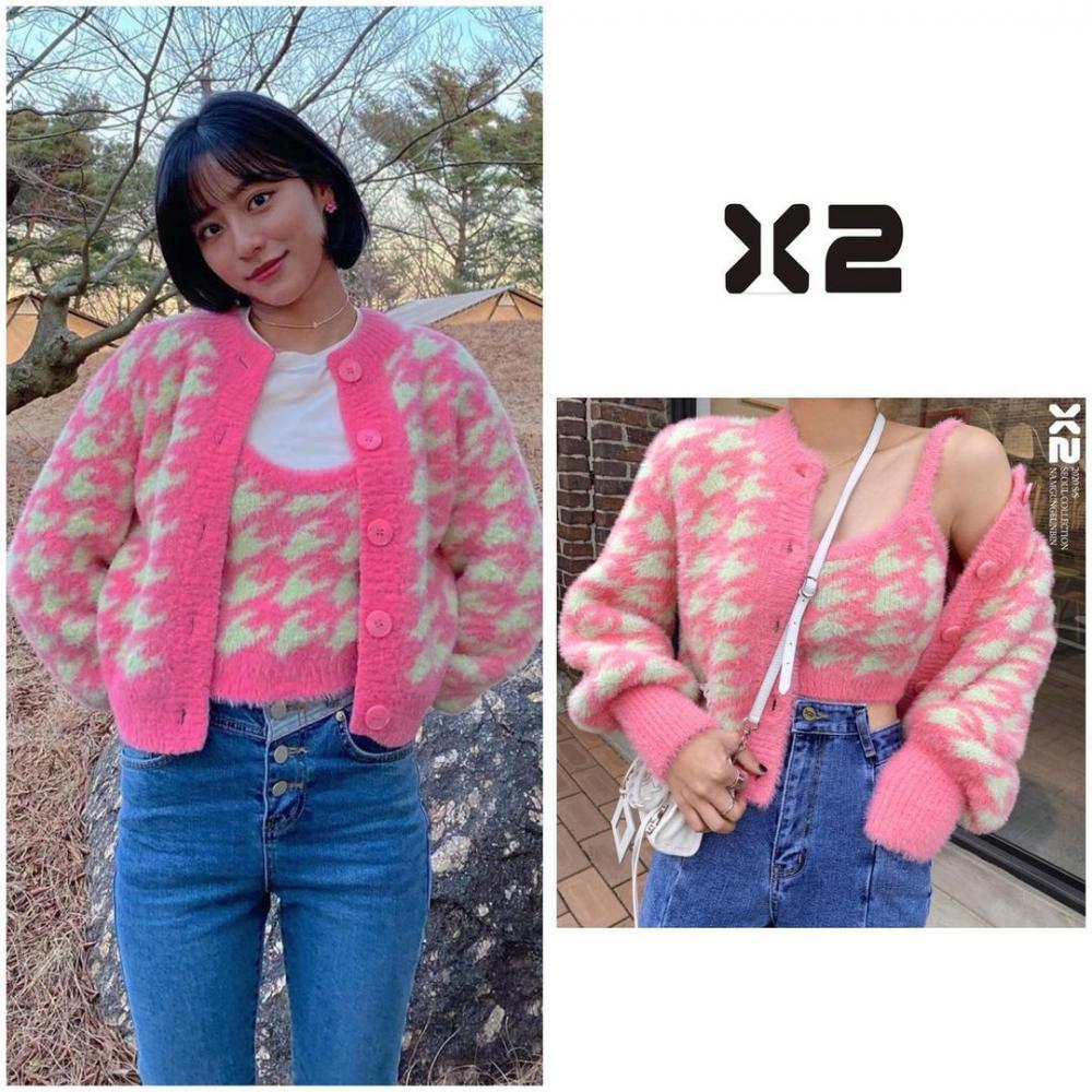 10 Harga Outfit Kang Min Ah di KDrama 'True Beauty', Fashionable!