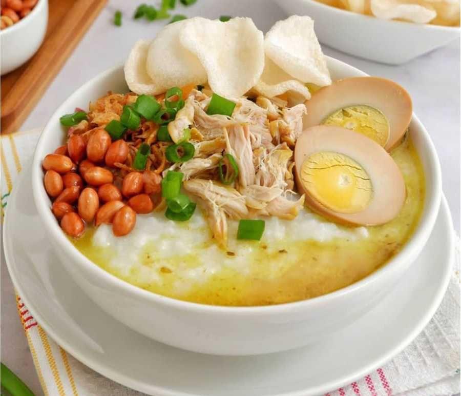 5 Resep Bubur Ayam Enak dan Praktis, Gampang Loh Buatnya