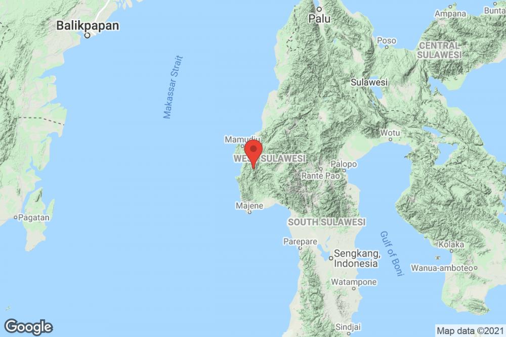 [Breaking] Bmkg: Gempa Bumi M 3.6 Di Madjene