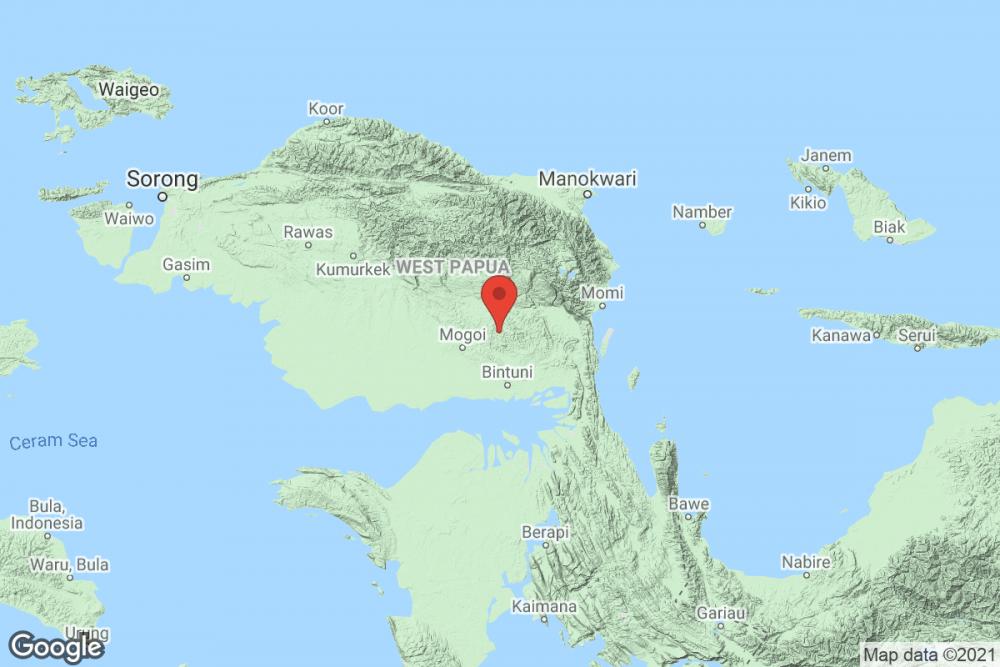 [Breaking] Bmkg: Gempa Bumi M 4.4 Di Kabupaten Teluk Bintuni