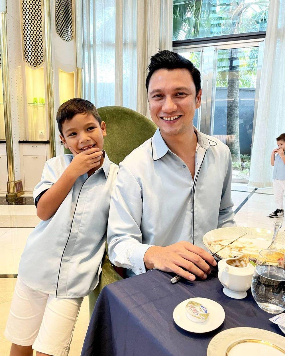 Genap 40 Tahun, 10 Momen Hangat Birthday Lunch Christian Sugiono