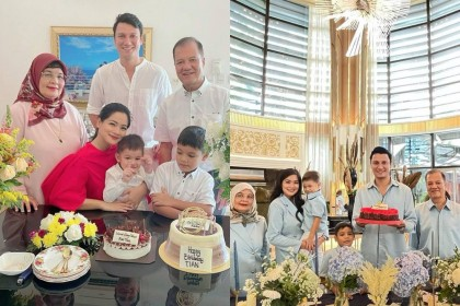 Genap 40 Tahun, 10 Momen Hangat Birthday Lunch Christian Sugiono