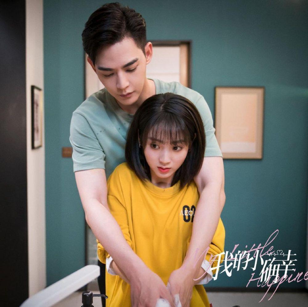 Bucin Akut, 9 Potret Mesra Xing Fei & Xiao Tian di My Little Happiness