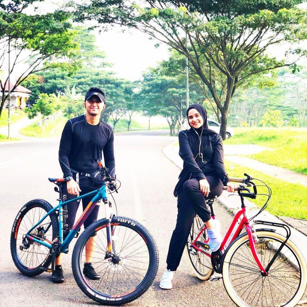 10 Potret Hengky Kurniawan dan Sonya Olahraga Bareng, Selalu Kompak!