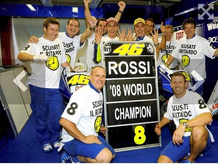42 Tahun si Nomor 46, Ini 9 Potret Karier Rossi di Dunia MotoGP