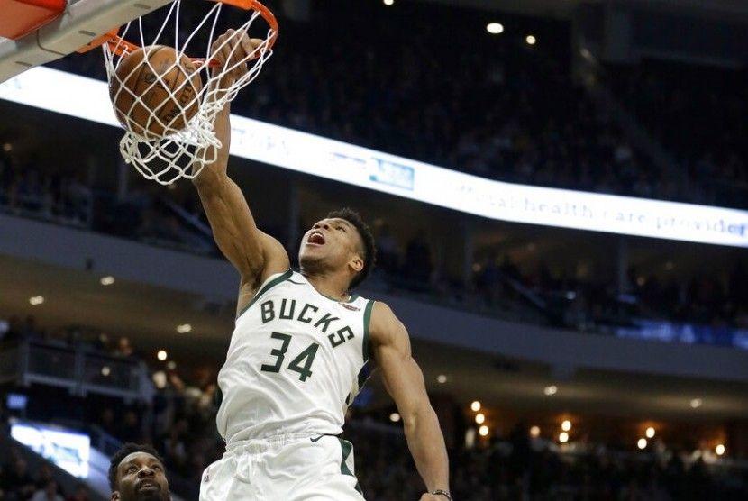 Aksi-aksi Ciamik Para Bintang di NBA All-Star 2021