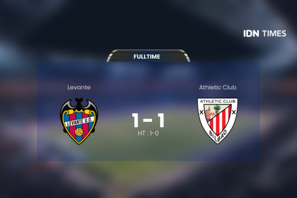 Athletic Club Vs Levante Tanpa Pemenang