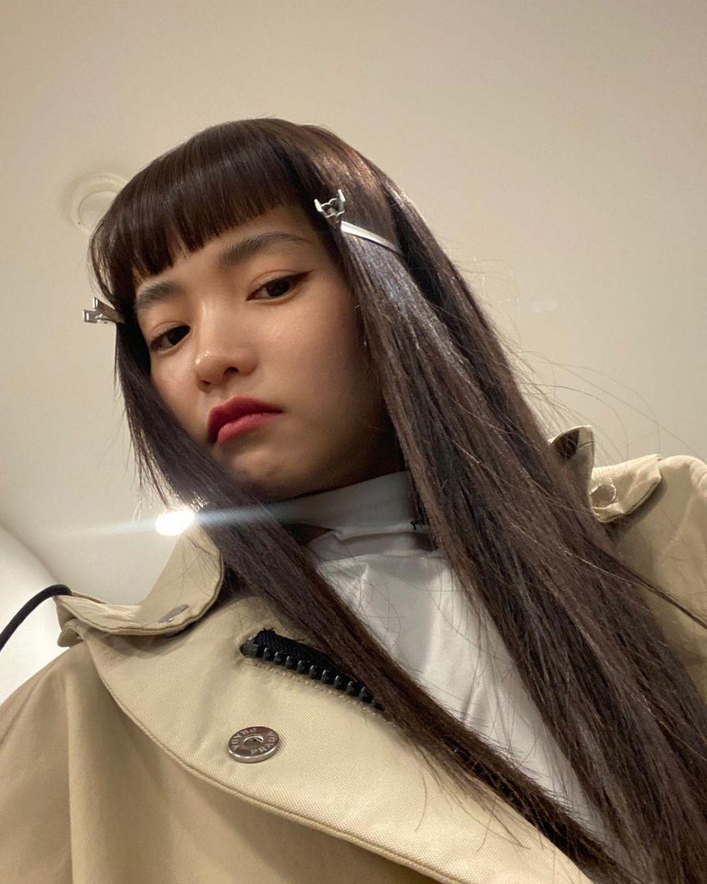10 Potret Pesona 5 Seleb Korea dengan Gaya Rambut Baby Bangs