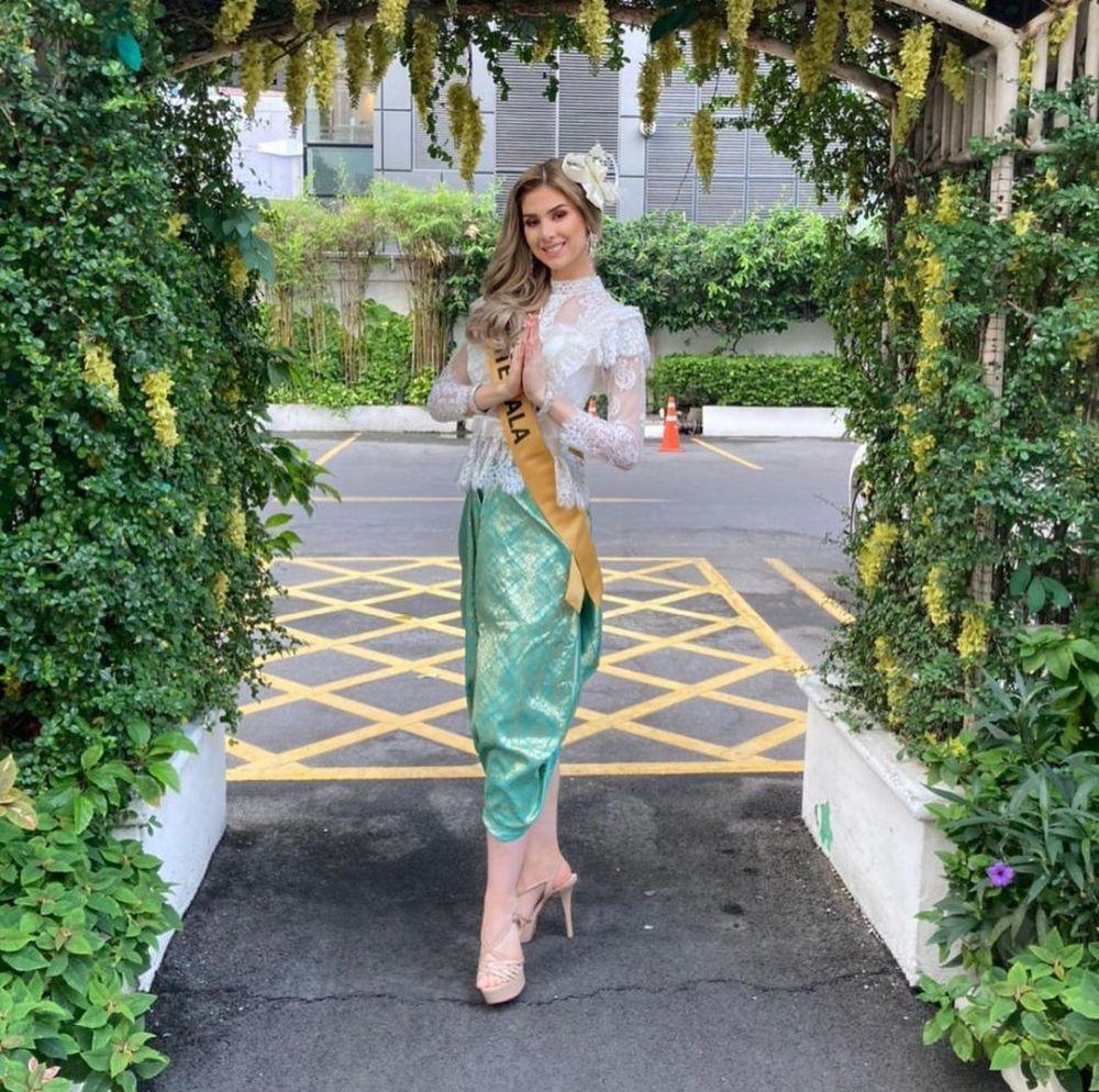 10 Pesona Kontestan Miss Grand 2020 Dalam Balutan Baju Khas Thailand