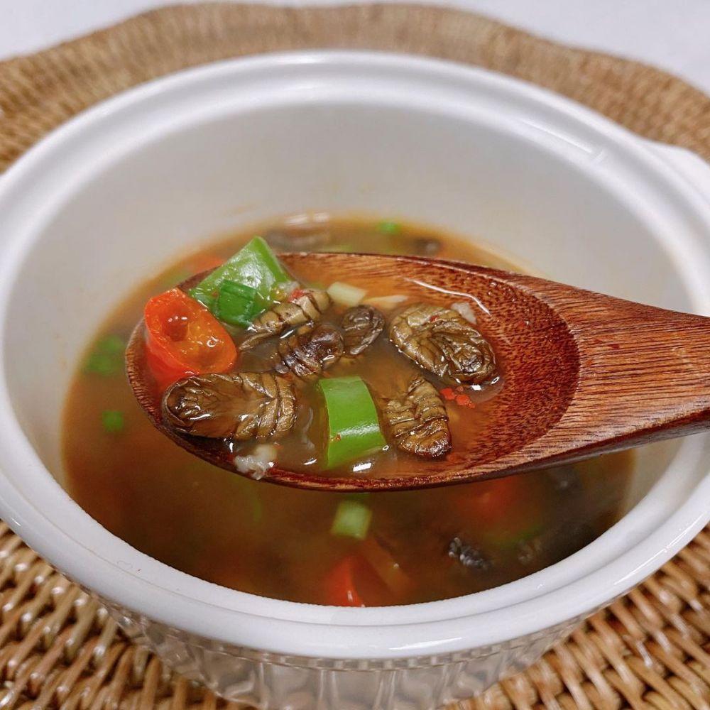 6 Fakta Beondegi, Kuliner Ekstrem Korea dari Kepompong Ulat Sutera
